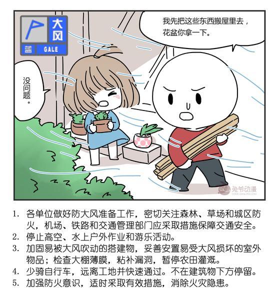 北京市2020年5月17日13时10分发布大风蓝色预警信号图片