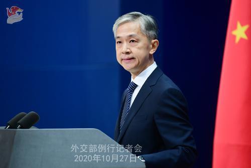 美常驻联合国代表攻击中国 汪文斌:别拿无理当真理,拿谎言当武器图片