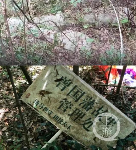 曾国藩墓地修缮方案获国家文物局批准已动工,施工方:3月底完成生态护坡图片