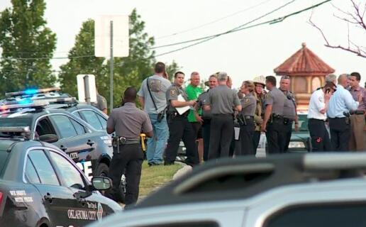 美国俄克拉荷马城发生枪击案 已致多人死伤(图)