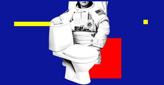 """""""马桶自由""""成真!NASA为女宇航员造了个厕所,耗资1.5亿元图片"""