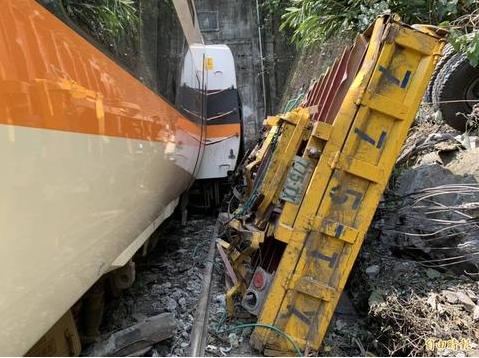 台运安会推测台铁事故原因:工程车手未拉手刹或故障图片