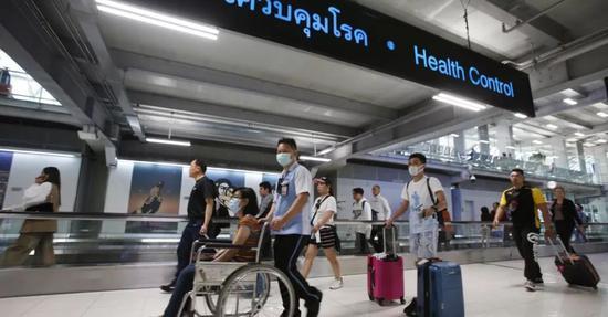 曼谷素万那普机场。/推特