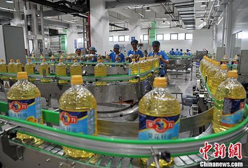 资料图:食用油。中新社记者 张斌 摄