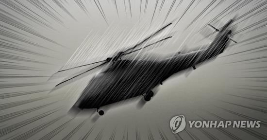 美军机出现故障 在韩国首尔公园紧急着陆