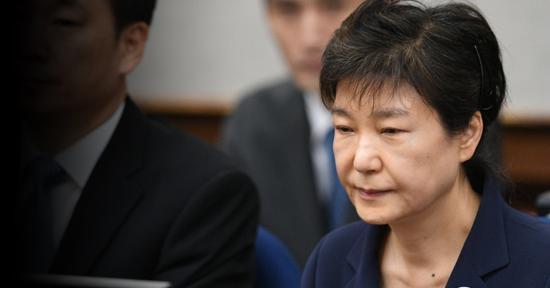 韩国前总统朴槿惠(韩联社)
