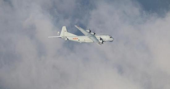"""台媒:今年217架次大陆军机进入台湾西南空域,4次越过""""海峡中线""""图片"""
