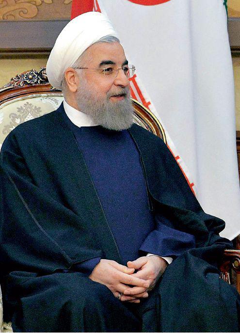 伊朗总统鲁哈尼。图/视觉中国