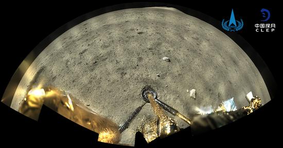 刚刚,嫦娥五号晒出工作照。她是这样干活的……图片