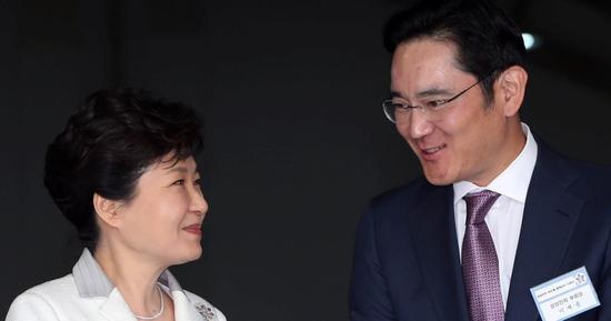 三星掌门与朴槿惠被关同一监狱 坐牢前先隔离4周