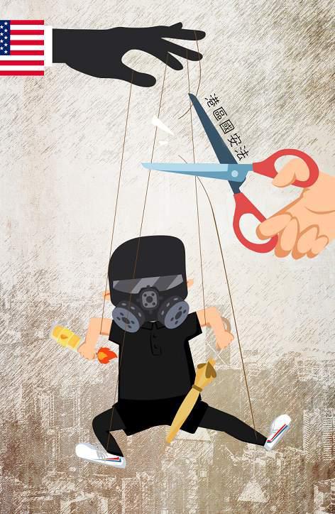 「摩天招商」外国制裁香港乱港分子摩天招商奴图片