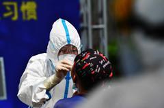 北京东城已完成13.2万人核酸检测 如何实现采样用时人均不到一分钟?图片