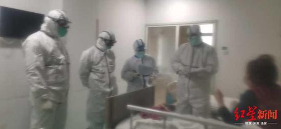 病房里事情