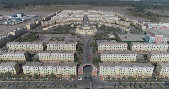 新疆阿克陶县扶贫搬迁:走出深山 致富路宽图片
