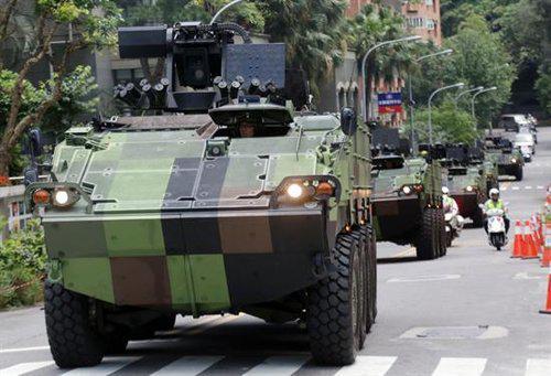 """供台湾政权首脑逃亡使用的""""逃亡车队"""""""