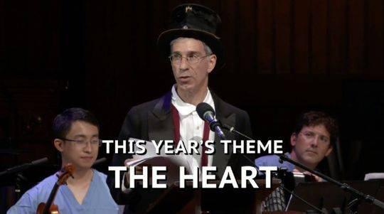 """2018年的搞笑诺贝尔奖的主题是""""心""""。"""