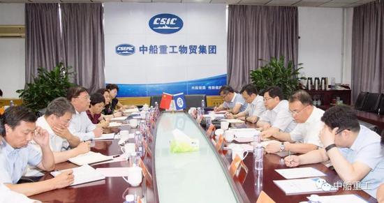 集团公司有关部门和单位负责人参加活动。