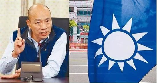 """媒体:民进党势必介入针对韩国瑜的""""罢免案""""图片"""