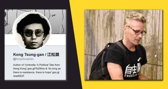 美媒起底香港专栏作家身份:美国人假扮 专发乱港言论