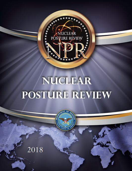 ▲美国《核态势评估报告》封面(美国国防部网站)