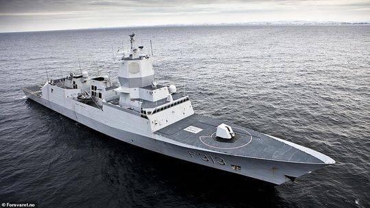 """包括""""英斯塔""""在内,挪威共有五艘""""南森""""级护卫舰。"""