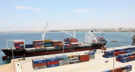 ▲日本企业将要参与建设的安哥拉纳米贝港(安哥拉国家通讯社)