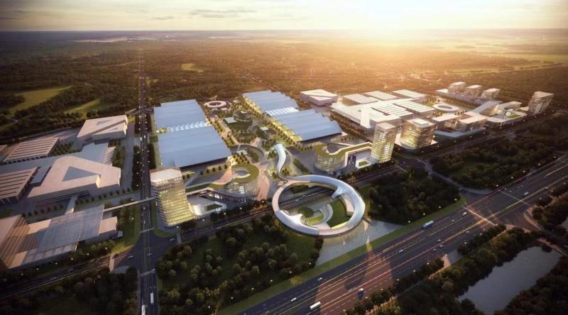 大兴国际会展中心落地北京大兴机场临空区图片