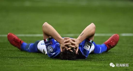 蓝衣军团无缘俄罗斯世界杯