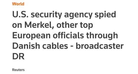 监听默克尔 美国安局秘密手段被曝光