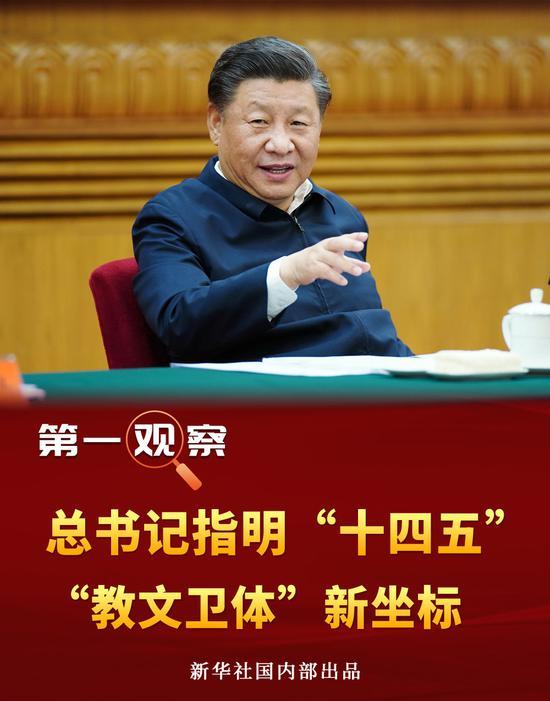 """习近平指明""""十四五""""""""教文卫体""""新坐标图片"""