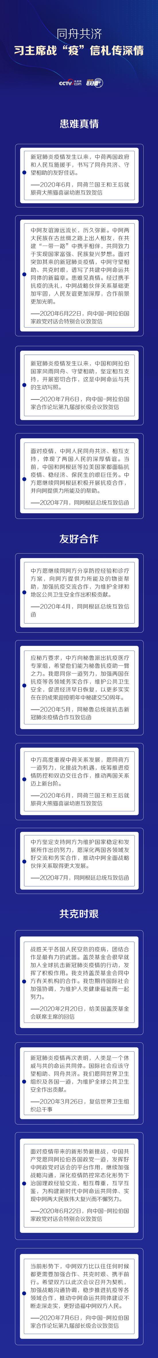 """同舟共济 习近平战""""疫""""信札传深情图片"""