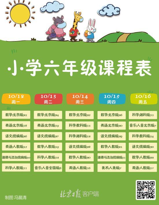 """北京中小学""""地面讲堂""""新一周课程表出炉(图6)"""
