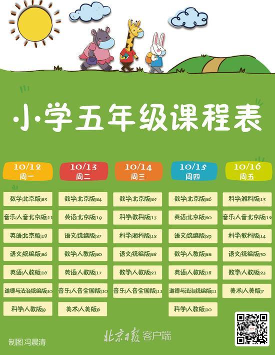 """北京中小学""""地面讲堂""""新一周课程表出炉(图5)"""