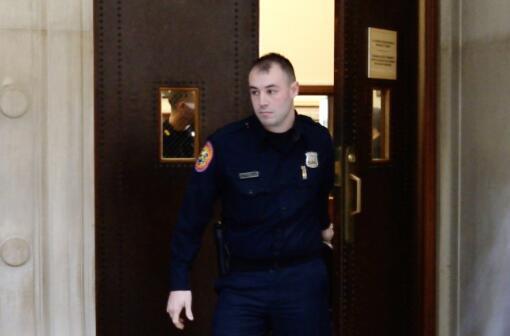 周立波案执法警察利特瑞罗。(图源:世界日报)