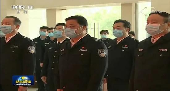 正在武汉的公安部副部长现身《新闻联播》图片