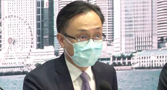 聂德权:香港14天全民检测 特区政府共花费5.3亿港元图片