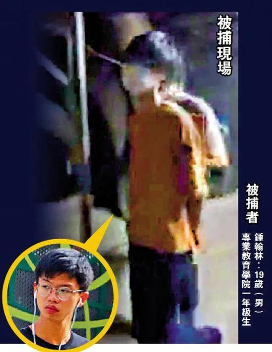 """港警国安处亮剑!""""港独""""组织召集人被捕图片"""