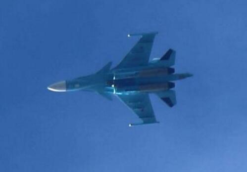俄罗斯战机(图源:法新社)
