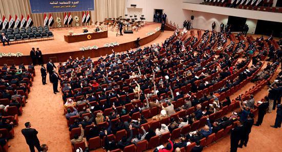 伊拉克议会举行特别会议 图自伊朗伊斯兰共和国通讯社