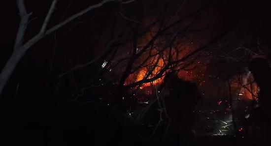 延庆森林火灾最新进展:火势得到控制 目前已无明火图片