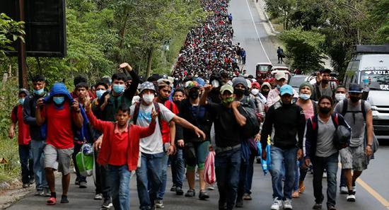 超9000南美国家移民北上:望美国候任政府兑现承诺