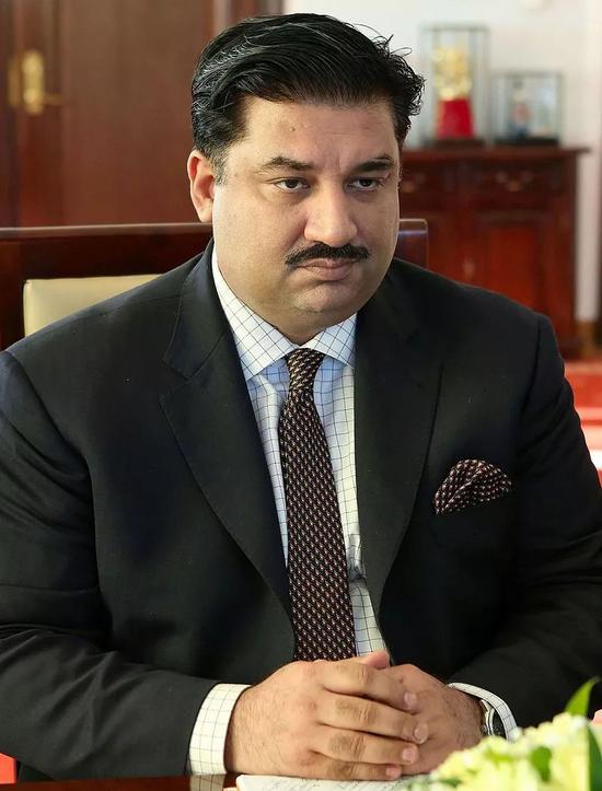 ▲巴基斯坦国防部长胡拉姆·达斯特吉尔汗(维基百科)