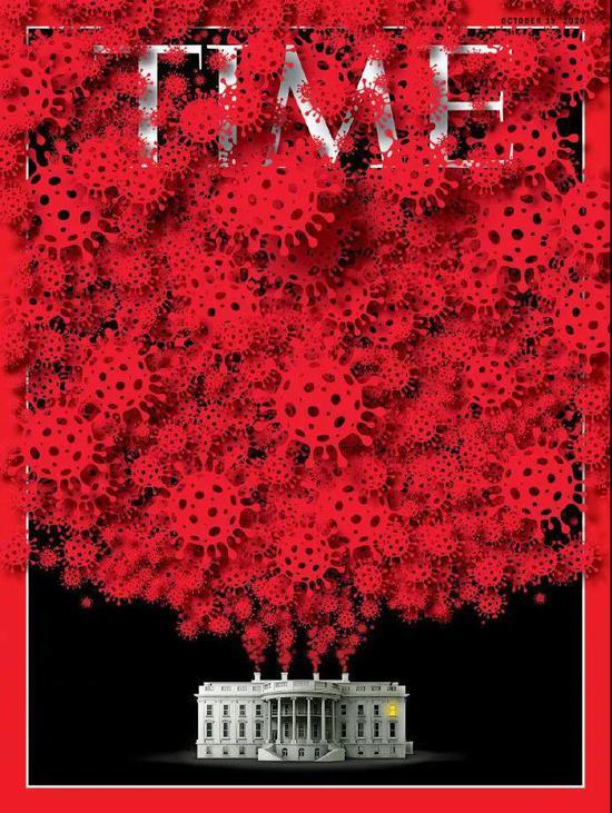 """《时代》周刊最新封面上白宫成了""""病毒发源地"""",华春莹这样评论图片"""