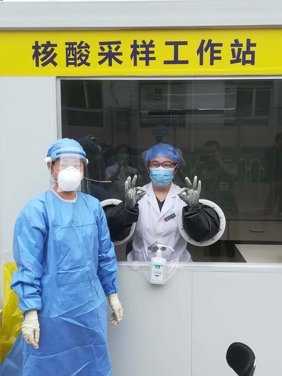 【天富官网】进舱北京首个核天富官网酸采样工图片