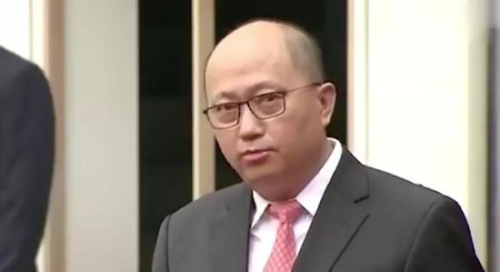 7月8日,中心驻港国安公署举办揭牌典礼,郑雁雄出席并发言
