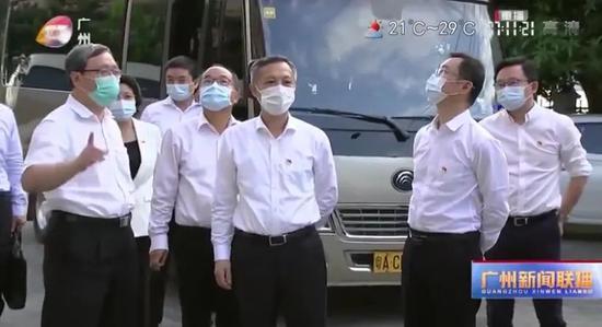广州市委书记张硕辅:坚决守住疫情防控底线图片