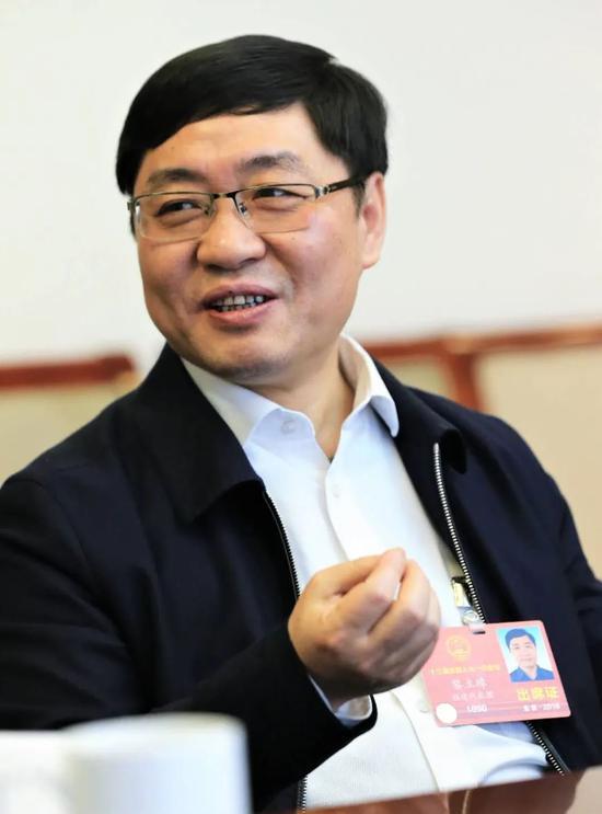 全国人大代表黎立璋(资料图,来源:中国企业报)