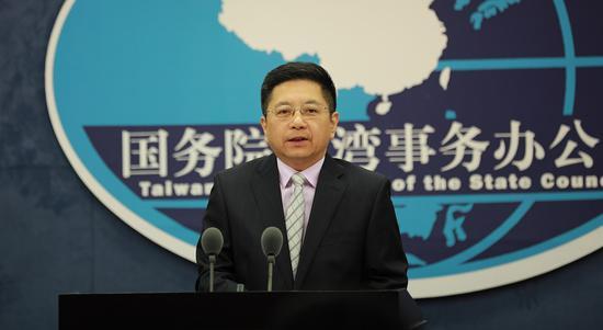 台湾民调称四成民众认为两岸或开战 国台办回应