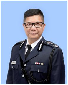 """港警一哥开口:作为中国人维护国家安全 不怕""""制裁""""图片"""