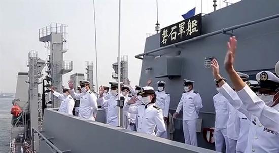 「高德注册」台海军敦睦舰队染疫案调高德注册查图片